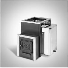 Печь банная Радуга ПБ-21Б сталь 4 мм под навесной бак 45 л (до 25 м³)