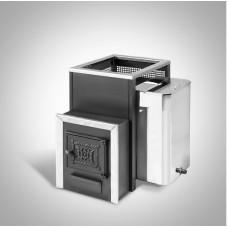 Печь банная Радуга ПБ-22Б сталь 4 мм под навесной бак 45 л (до 25 м³)