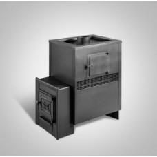 Печь банная Радуга ПБ-23Б сталь 4 мм ТО под навесной бак 45 л (до 25 м³)