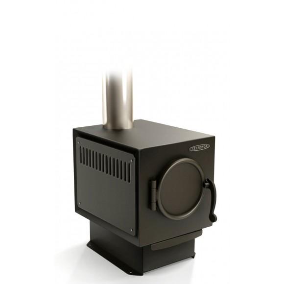 Печь отопительно-варочная Термофор Золушка Лайт, длительного горения