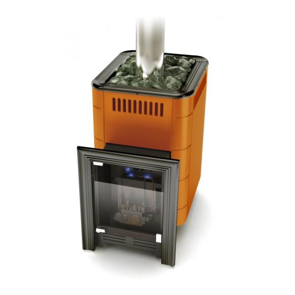 Печь для бани газовая Термофор Уренгой-2 Inox, терракота, (без ГГУ)